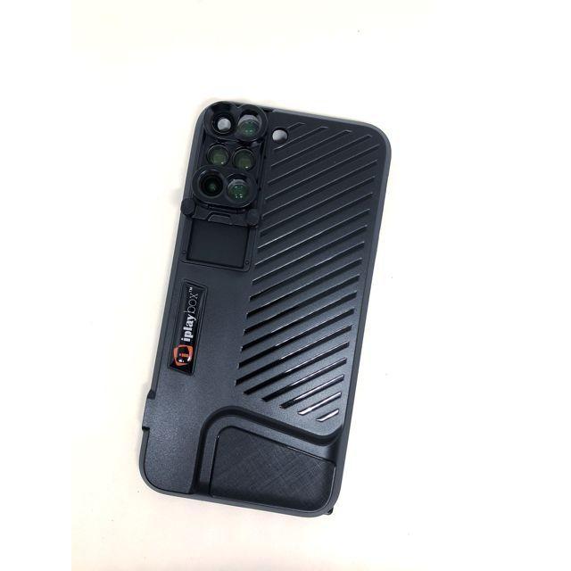 6レンズケース 魚眼&望遠 10倍マクロ&20倍マクロ 120度広角&2倍望遠 iPhone 8 Plus/7 Plus【5月下旬】