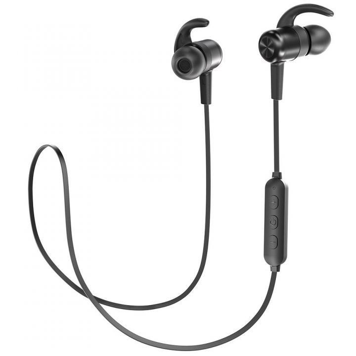 TaoTronics TT-BH026 Bluetoothイヤホン IPX5防滴 ブラック_0