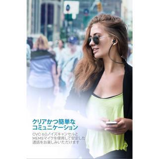 TaoTronics TT-BH026 Bluetoothイヤホン IPX5防滴 ブルー_3