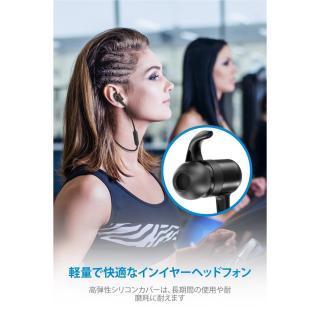 TaoTronics TT-BH026 Bluetoothイヤホン IPX5防滴 ブルー_4