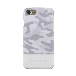 iPhone SE 第2世代 ケース BLACK BY MOUSSY 迷彩 ハードケース ホワイト iPhone SE 第2世代/8/7