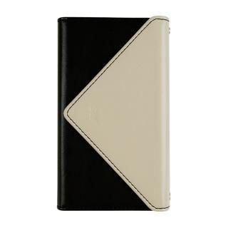 【iPhone8 ケース】SLY 3つ折り手帳型ケース バイカラー ライトグリーン/ブラック iPhone 8/7
