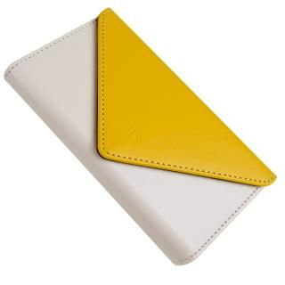 【iPhone8/7ケース】SLY 3つ折り手帳型ケース バイカラー イエロー/ホワイト iPhone 8/7_3
