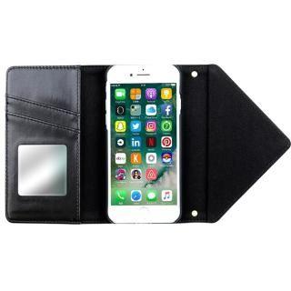 【iPhone8/7ケース】SLY 3つ折り手帳型ケース バイカラー ブルー/オレンジ iPhone 8/7_2