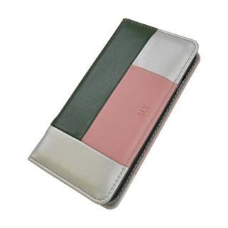 【iPhone8/7/6s/6ケース】SLY COLOR BROCKING 手帳型ケース ORANGE シルバー iPhone 8/7/6s/6_2