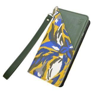 【iPhone8/7/6s/6ケース】SLY DARK GRASSES 手帳型レザーケース モスグリーン iPhone 8/7/6s/6_2