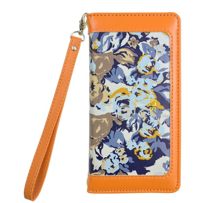 iPhone8/7/6s/6 ケース SLY CAMOROSE 手帳型ケース オレンジ iPhone SE 第2世代/8/7/6s/6_0