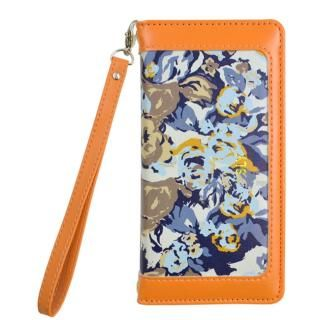 【iPhone8/7/6s/6ケース】SLY CAMOROSE 手帳型ケース オレンジ iPhone 8/7/6s/6
