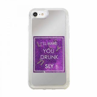 【iPhone8/7/6s/6ケース】SLY ウォーターミラーケース パープル iPhone 8/7/6s/6