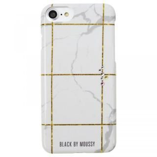 iPhone8/7/6s/6 ケース BLACK BY MOUSSY 大理石柄 背面ケース ブラック ホワイト iPhone 8/7/6s/6【2020年1月中旬】