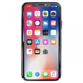 【iPhone XS/Xケース】BLACK BY MOUSSY ダマスク柄 クリア背面ケース シルバー iPhone XS/X_2