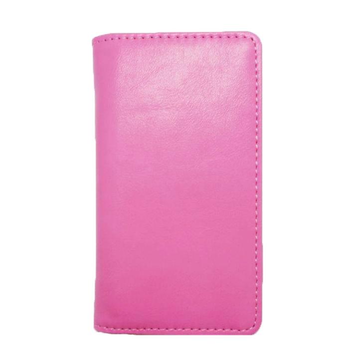 【LGT】iPhone SE/5s/5 手帳型ケース ピンク(スムース)