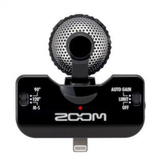 360°の音を録音可能なステレオマイク iQ5 ブラック