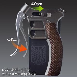 【iPhone SE/5s/5ケース】進撃の巨人 超硬質ブレード型カバー 調査兵団ver. iPhone SE/5s/5ケース_3