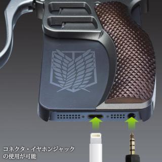 【iPhone SE/5s/5ケース】進撃の巨人 超硬質ブレード型カバー 調査兵団ver. iPhone SE/5s/5ケース_5