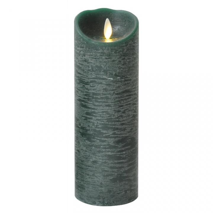 火を使わないLEDキャンドル LUMINARA グリーンLサイズ_0