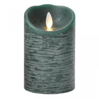 火を使わないLEDキャンドル LUMINARA グリーンSサイズ