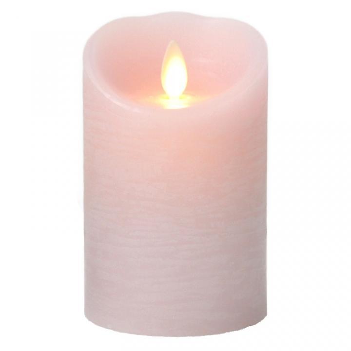火を使わないLEDキャンドル LUMINARA ピンクSサイズ_0