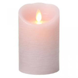 火を使わないLEDキャンドル LUMINARA ピンクSサイズ