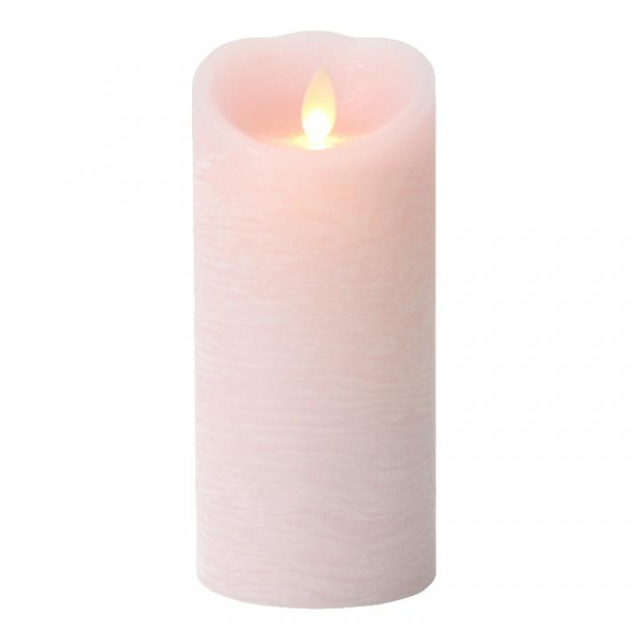 火を使わないLEDキャンドル LUMINARA ピンクMサイズ_0