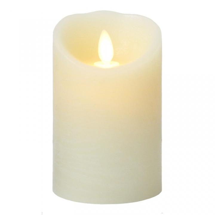 火を使わないLEDキャンドル LUMINARA アイボリーSサイズ