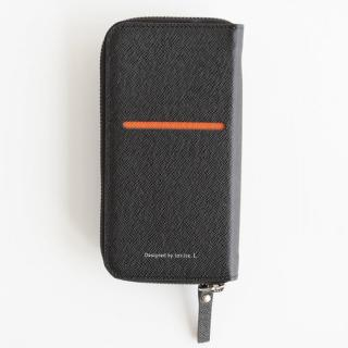 お財布付き手帳型ケース ZIP-Around ブラック iPhone 6s Plus/6 Plus