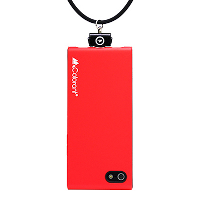 iPhone SE/5s/5 ケース Link Outdoor NeckStrap Case  iPhone 5 Red_0