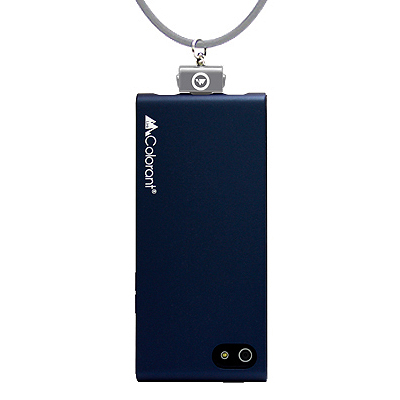 【iPhone SE/5s/5ケース】Link Outdoor NeckStrap iPhone 5 Navy Blue_0