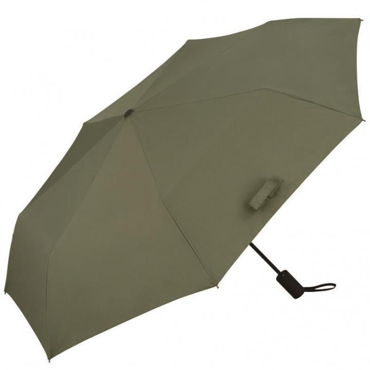 濡らさない傘 Unnurella biz- folding umbrella カーキ_0