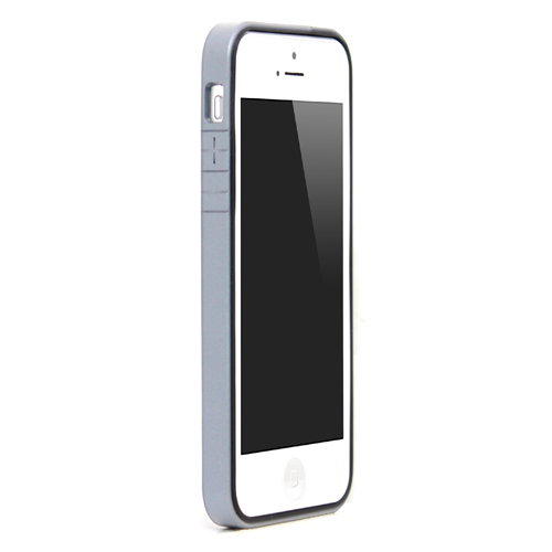 iPhone SE/5s/5 ケース B1 Bumper Full Protection  iPhone SE/5s/5 Silver_0