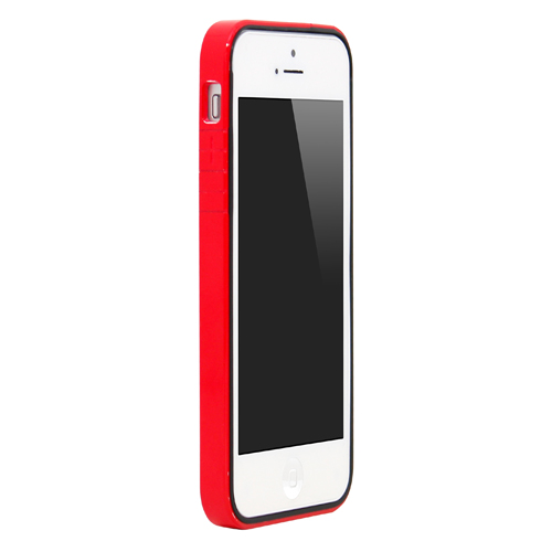iPhone SE/5s/5 ケース B1 Bumper Full Protection  iPhone SE/5s/5 Red Glossy_0