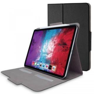 フラップケース ソフトレザー フリーアングル スリープ対応 Mサイズ ブラック iPad Pro 2020 11インチ
