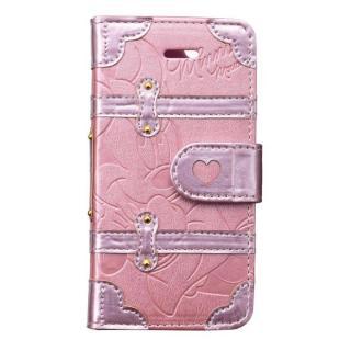 ディズニー プレミアムトランクカバー ミニーデイジー iPhone SE/5s/5/5c 手帳型ケース