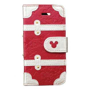 ディズニー プレミアムトランクカバー ミッキーミニー iPhone SE/5s/5/5c 手帳型ケース