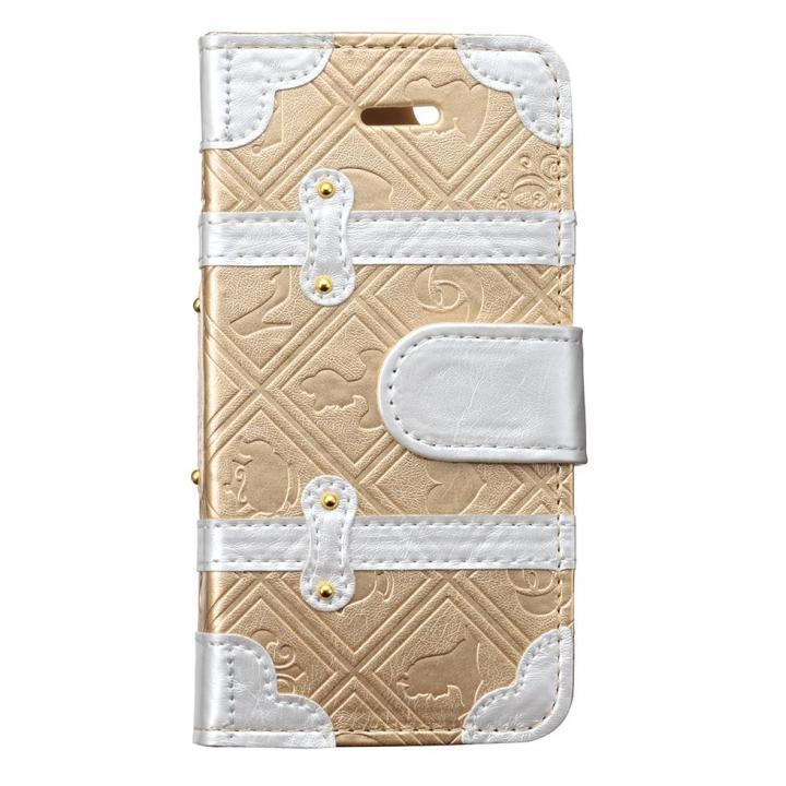 【iPhone SE/5s/5ケース】ディズニー プレミアムトランクカバー プリンセス iPhone SE/5s/5/5c 手帳型ケース_0