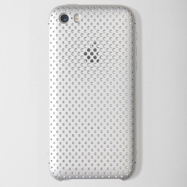 iPhone SE/5s/5 ケース 超々ジュラルミンA7075メッシュケース iPhone SE/5s/5 シルバー_0