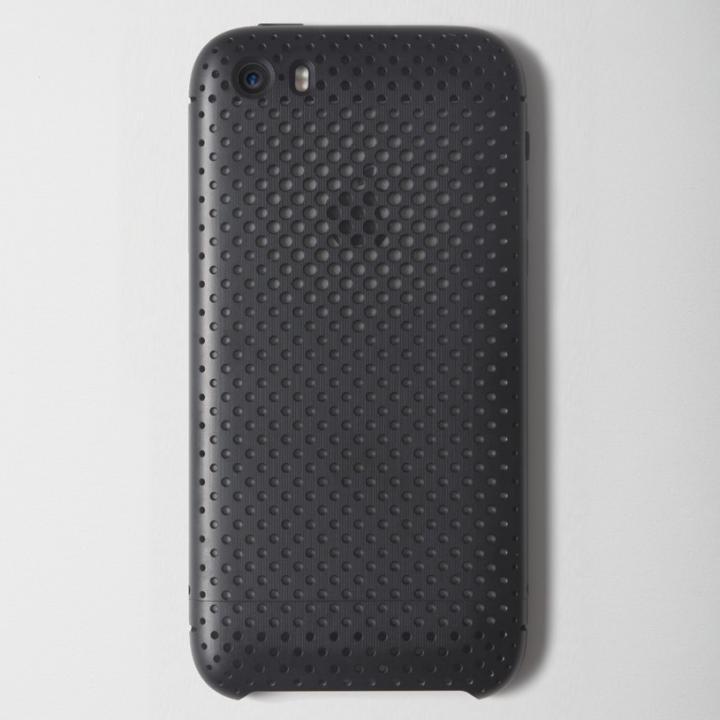 【iPhone SE/5s/5ケース】超々ジュラルミンA7075メッシュケース iPhone SE/5s/5 ブラック_0