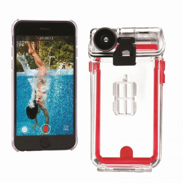 防水防塵ケース 4レンズ付き Optrix Pro  iPhone 6