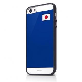 Bluevision ワールドカップエディション バンパーブラック iPhone 5s/5 ケース