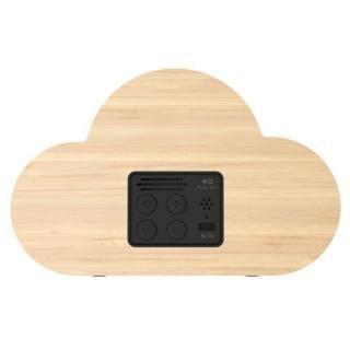 PLUS DOT Simplewood 卓上時計 雲型_1