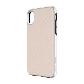【iPhone Xケース】Rebecca Minkoff Luxe Double Up Case Snakeskin Inlay Nude Snake iPhone X_2