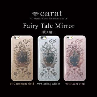 【iPhone6ケース】Carat 4D ハードケース Fairy Tale ゴールド iPhone 6_1