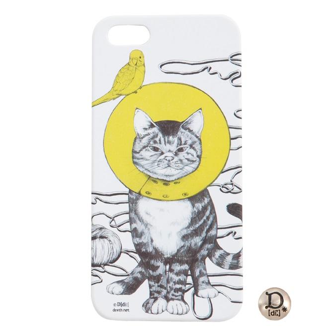 【iPhone SE/5s/5ケース】[di:]iPhone5ケース CAT_0