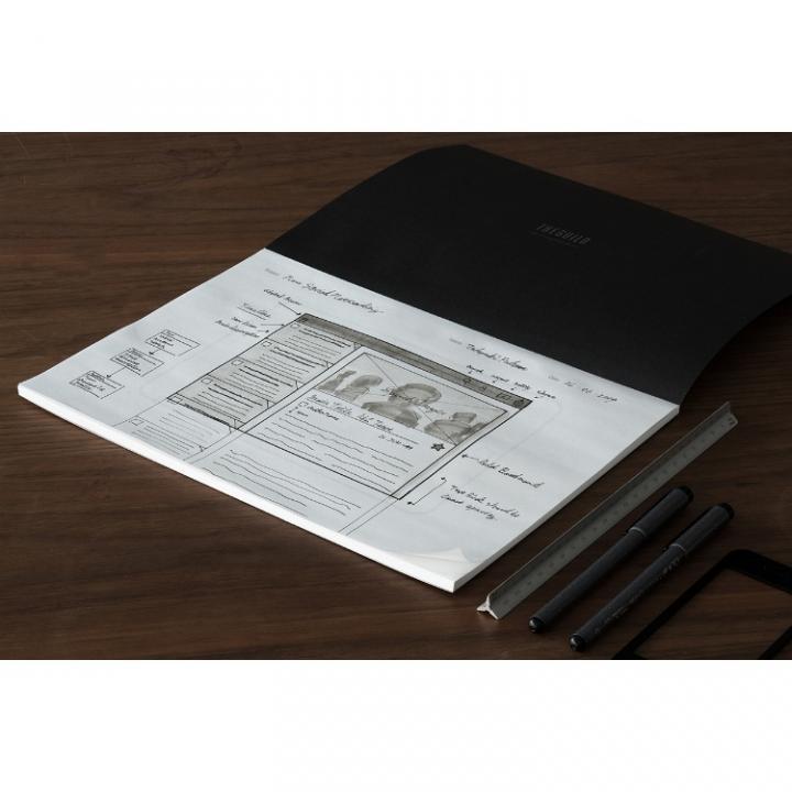 アプリ開発用ノート Paper Prototyping Pad  Tablet