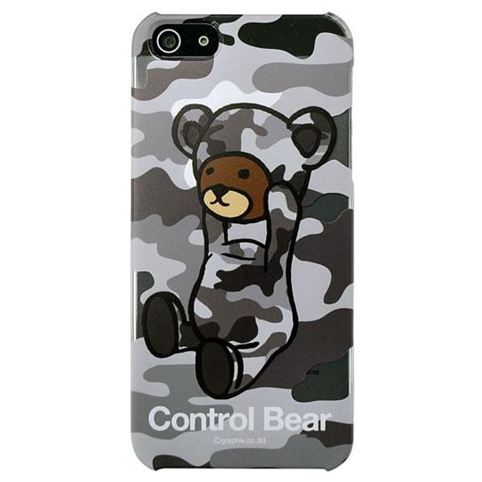 iPhone SE/5s/5 ケース カスタムカバーiPhone5(コントロール クリア迷彩)_0