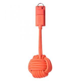 [20cm]キーホルダー型 Lightningケーブル KEY CABLE オレンジ