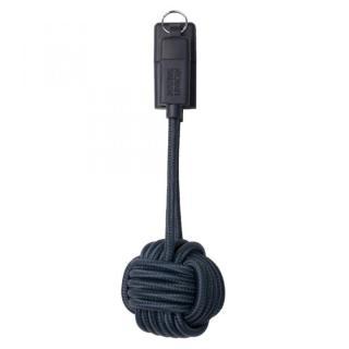 [20cm]キーホルダー型 Lightningケーブル KEY CABLE ネイビー
