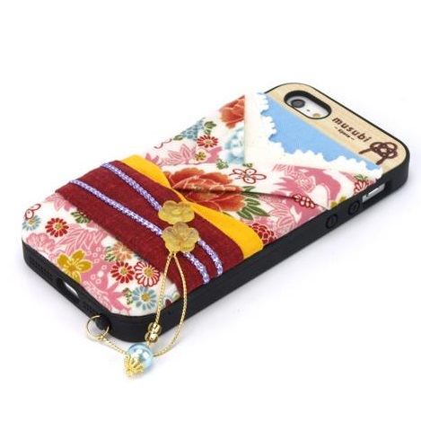 【iPhone SE/5s/5ケース】made in 京都「musubi」:pokke for iPhone SE/5s/5 古典_0