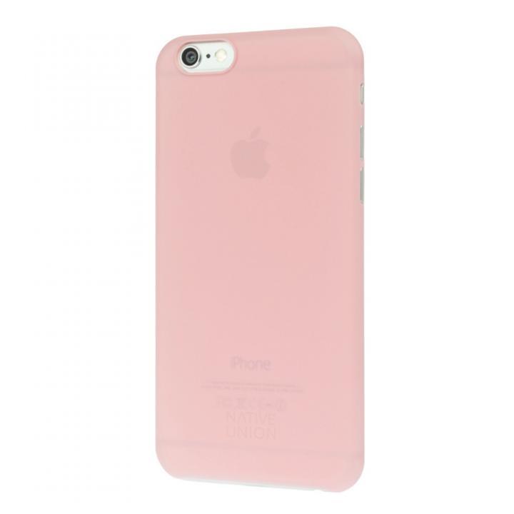 【iPhone6ケース】薄型ケース NATIVE UNION CLIC AIR ピンク iPhone 6_0
