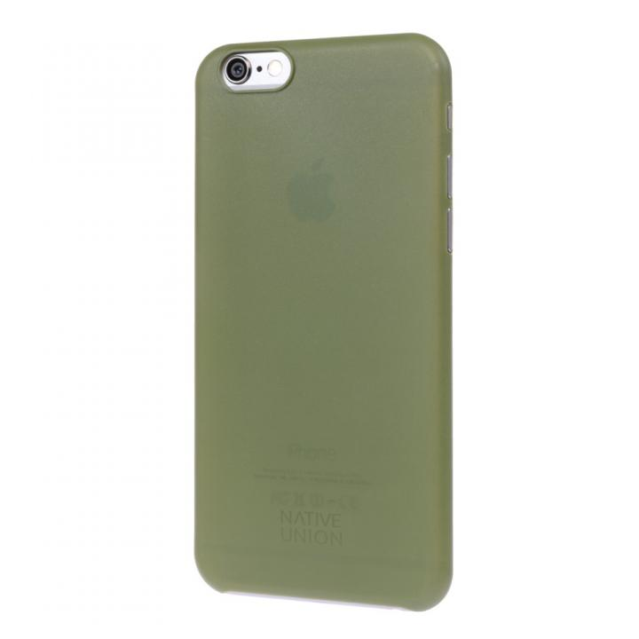 【iPhone6ケース】薄型ケース NATIVE UNION CLIC AIR オリーブ iPhone 6_0